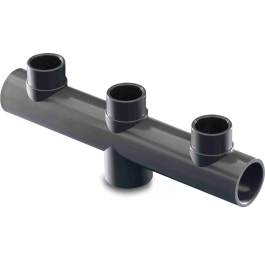 Kolektor d50 mm 63 mm x 50/63 mm x 63 mm
