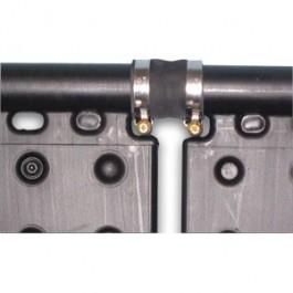 Zacisk mufy ze stali nierdzewnej, 35 - 50 mm
