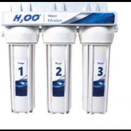Trójstopniowy podzlewozmywakowy filtr do wody