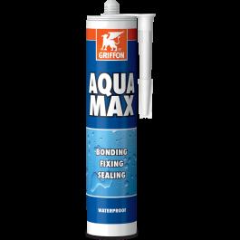Klej uszczelniający i montażowy Griffon Aqua Max (biały)