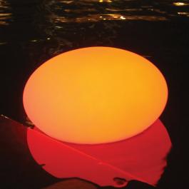 Dryfująca lampa LED Kamień żwirowy