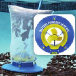 Próżniowy odkurzacz basenowy, typ Leaf Vac