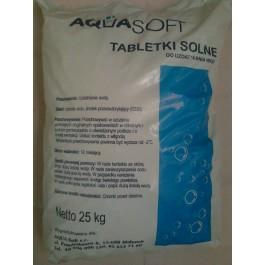 Sól tabletkowana - Opakowanie 25 kg