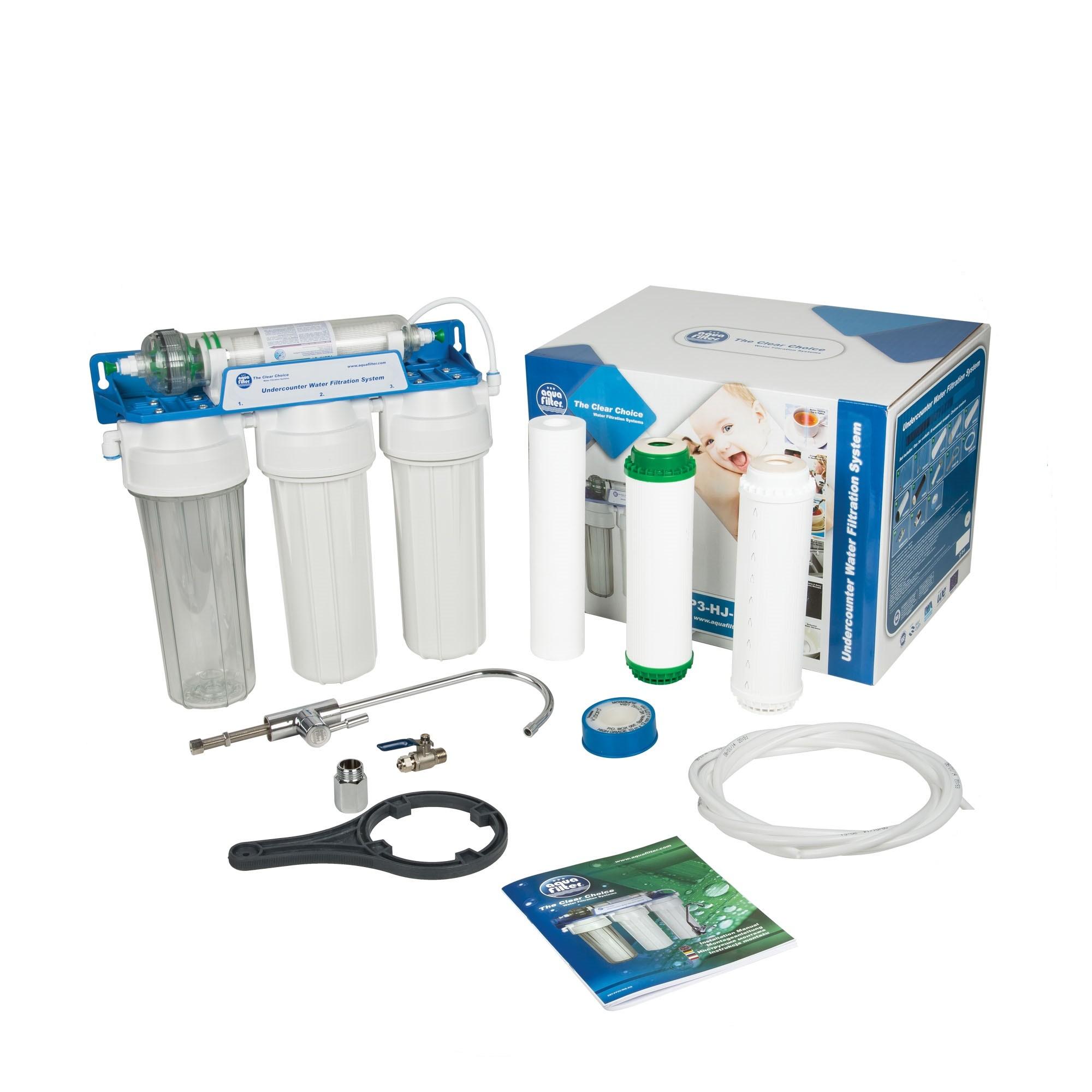 4 stopniowy system podzlewozmywakowy - Aquafilter