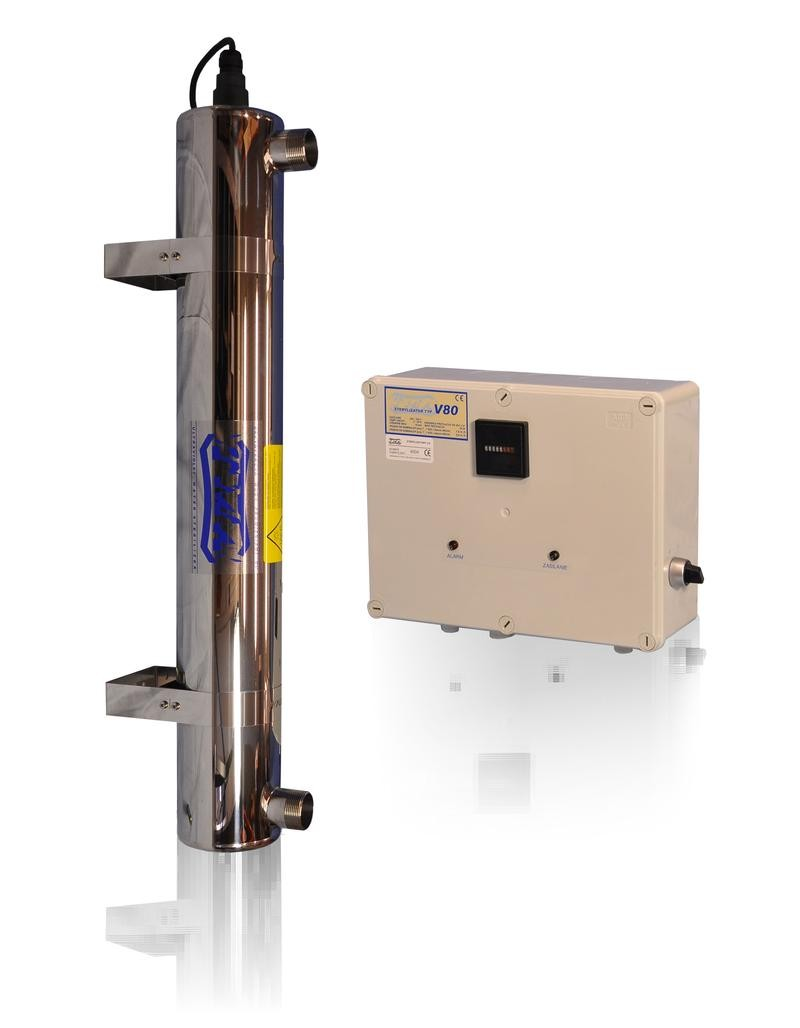 Lampa UV V80, przepływ 5,90m3/h - TMA