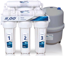 6 - stopniowy system odwróconej osmozy - H2OO