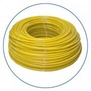 """Żółty wężyk polietylenowy 1/4"""", długość 300 m w zwoju (cena za 1 mb.)."""