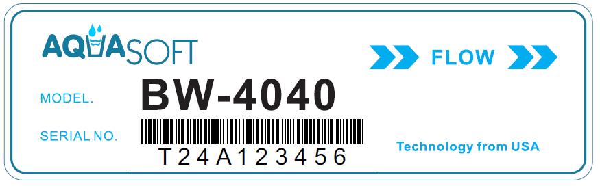 Membrana BW4040 AQUA SOFT