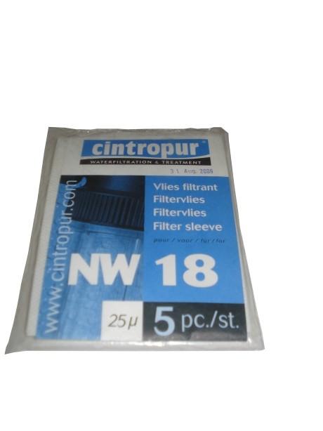 Wkłady do filtrów Cintropur NW18 25 mikronów