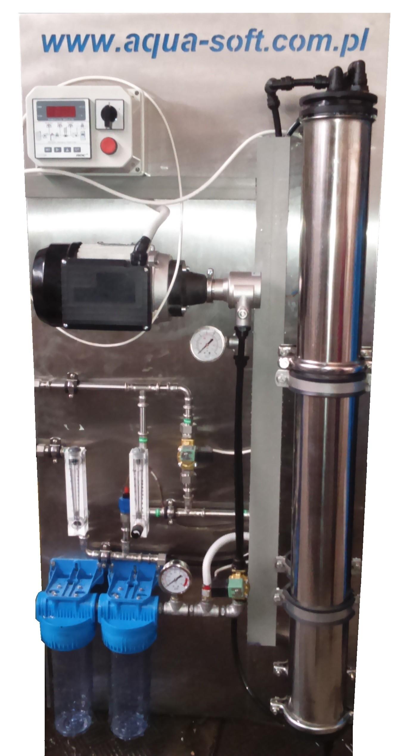 Osmoza przemysłowa RO500, wydajność 500 l/h