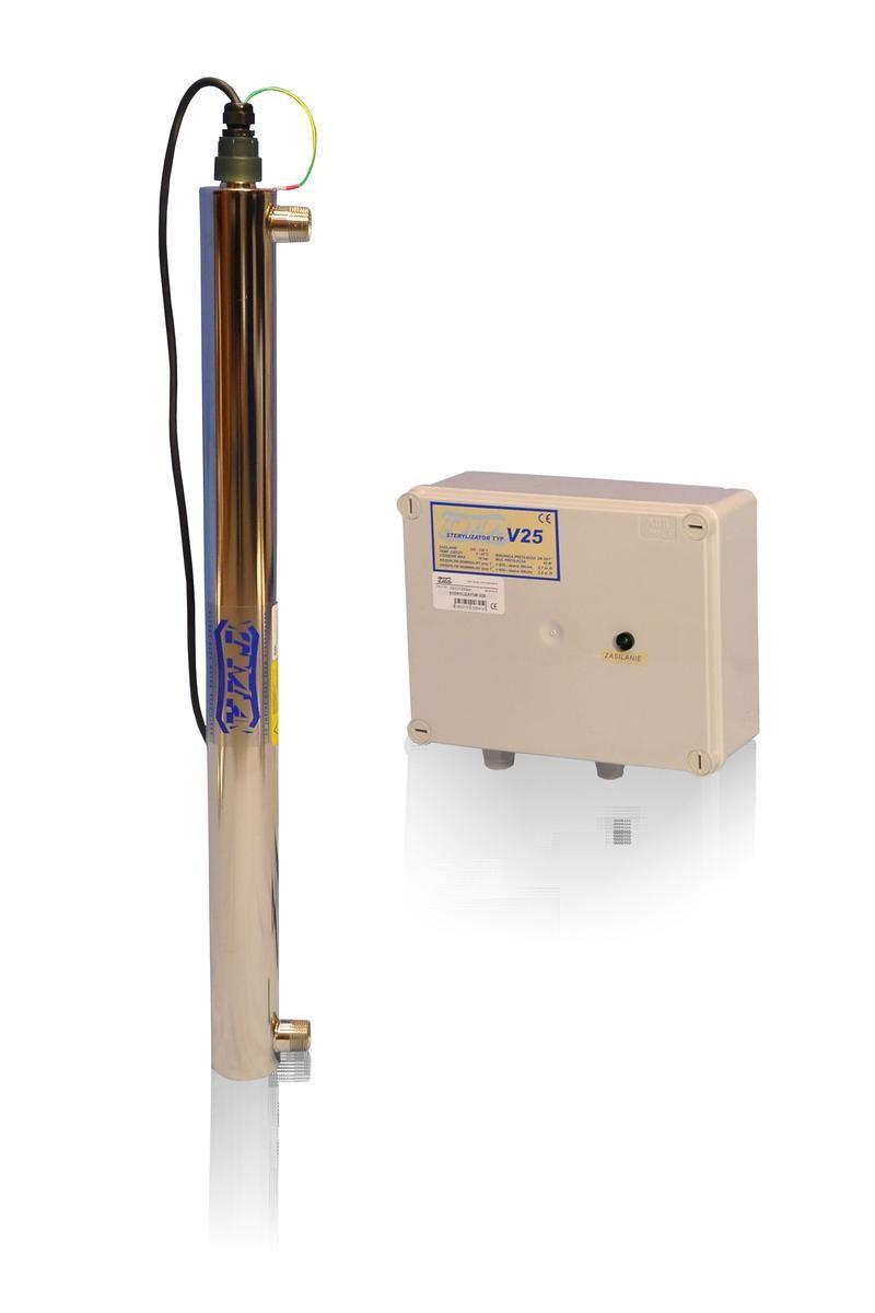 Lampa UV V25, przepływ 2,0 m3/h - TMA