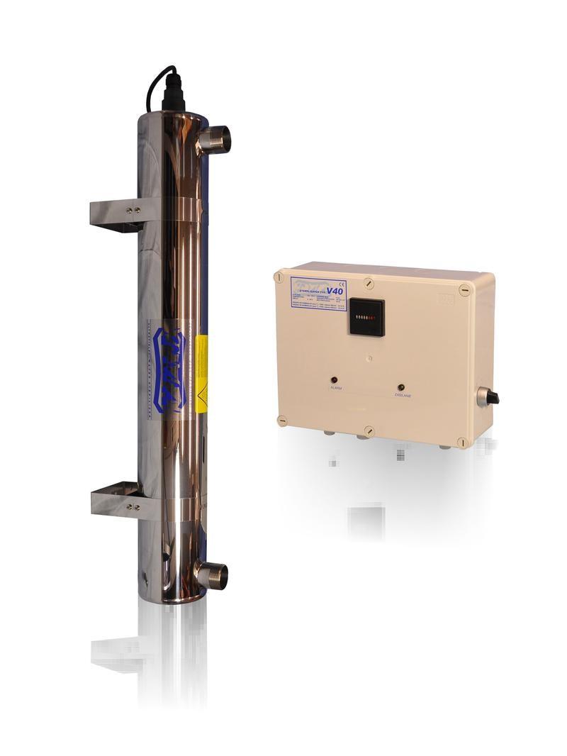 Lampa UV V40, przepływ 3,6m3/h - TMA