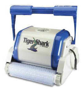 Automatyczny robot do czyszczenia basenu firmy Hayward, typ Tigershark (szczotka typ PVC)