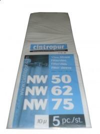 Wkłady do filtrów Cintropur NW50/62/75 5 mikronów & NW 500/650/800 5 mic.